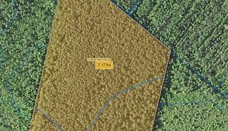 Müüa maatükk, maatulundusmaa, metsamaa